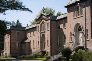 Le monastère de Berthierville, Canada