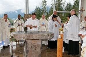 Bénédiction de l'autel